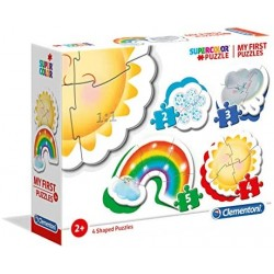 Clementoni - 20817 - My First Puzzle - Atmospheric Events - 2-3-4-5 Pezzi - Made In Italy - Puzzle Bambini 2 Anni +