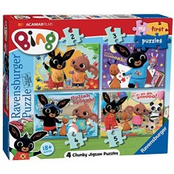 Ravensburger My First Puzzle, 2-3-4-5 Pezzi, 06834