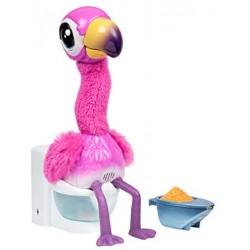 Juguetes Famosa- Flamingo The Poop, Fenicottero, Animale Domestico, LPG00000