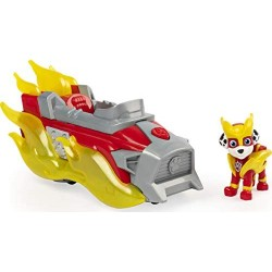 PAW Patrol Mighty Pups Charged Up Marshall s Deluxe veicolo con luci e suoni