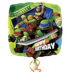 Palloncino Mylar Ninja Turtles Happy B-d