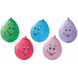 Palloni Medium Smile 8pz