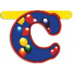 """Lettere Pallone Singole """"c"""""""