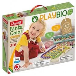 Quercetti - 80903 FantaColor Design Play Bio, Multicolore, 80903