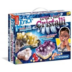 Focus crea i tuoi cristalli clementoni 138142c for Crea i tuoi progetti