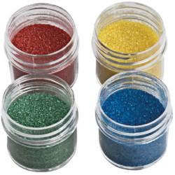 Zucchero Glitterato Verde 9 Gr