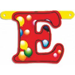 """Lettere Pallone Singole """"e"""""""