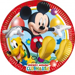 Playful Mickey Piatti 20 Cm. Pz.8