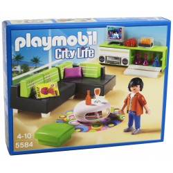 Playmobil Salone Con Mobili Design