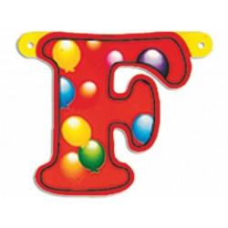 "Lettere Pallone Singole ""f"""