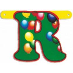 """Lettere Pallone Singole """"r"""""""