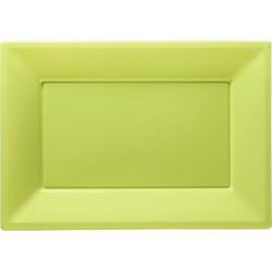 Vassoio Modus Vivendi Verde Pz.3 32x23