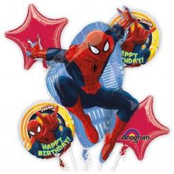 Set Di Palloni Mylar Ultimate Spiderman