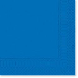 Tovaglioli 25x25 Blu Genziana 100pz