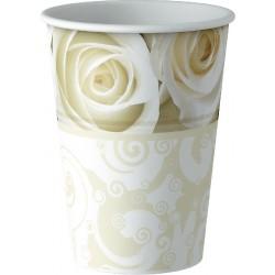 Wedding Bicchieri Cartoncino 20 Cl Pz.8