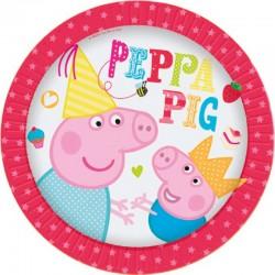 Peppa Pig Piatti 18 Cm Pz.8
