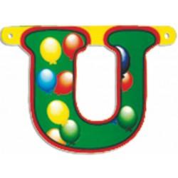 "Lettere Pallone Singole ""u"""
