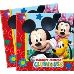 Playful Mickey Tovaglioli 33x33 Pz.20
