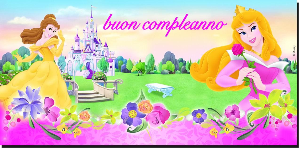 Famoso Festone Buon Compleanno Disney Princess AMSCAN 5BG1306 KY49