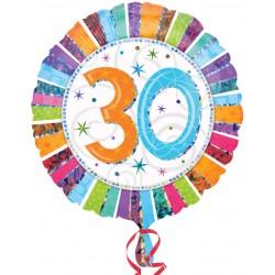 Palloncino Mylar Compleanno 30 Anni