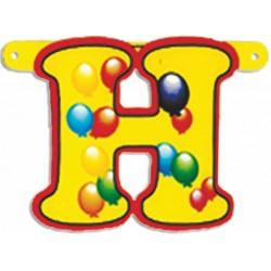 """Lettere Pallone Singole """"h"""""""