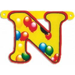 "Lettere Pallone Singole ""n"""
