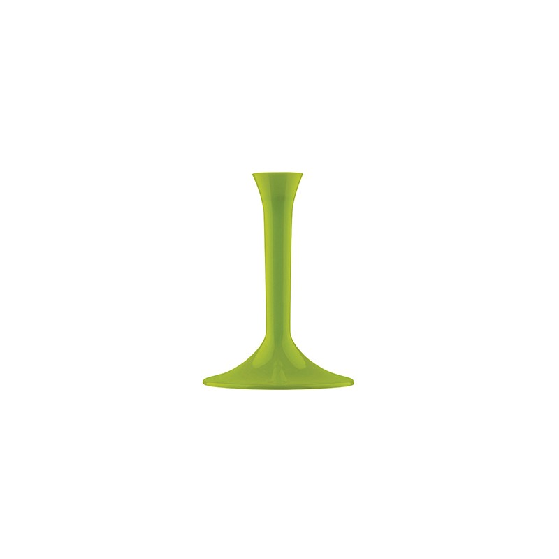 Gambo Per Flute E Coppe In Ps 20pz Verde  Acido