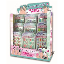 Creative - Nails Press On Restyling - Set Unghie Adesive