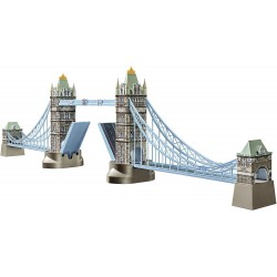 ravensburger italy- puzzle 3d london tower bridge, 216 pezzi, 12559
