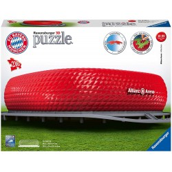 ravensburger allianz arena - puzzle 3d building maxi 12256