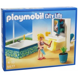 Playmobil City Life - Sala Da Bagno