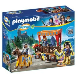 Playmobil Super 4 - Tribuna Reale Con Alex
