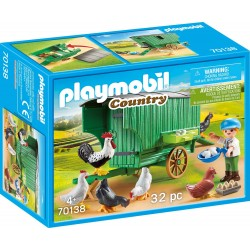 playmobil 70138 - pollaio