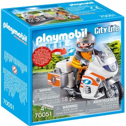 playmobil 70051 - moto pronto intervento