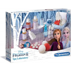 Clementoni- Disney Frozen 2-Spa Lab, Gioco scientifico, Multicolore, 18523