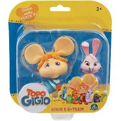 Grandi Giochi- Topo Gigio Mini Personaggi 6 Modelli, 8056379106265